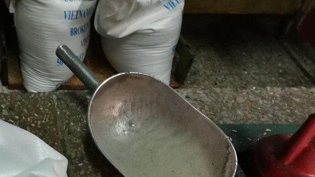 El desabastecimiento de arroz afecta actualmente a los locales de venta liberada en moneda nacional y las tiendas en CUC. (14ymedio)