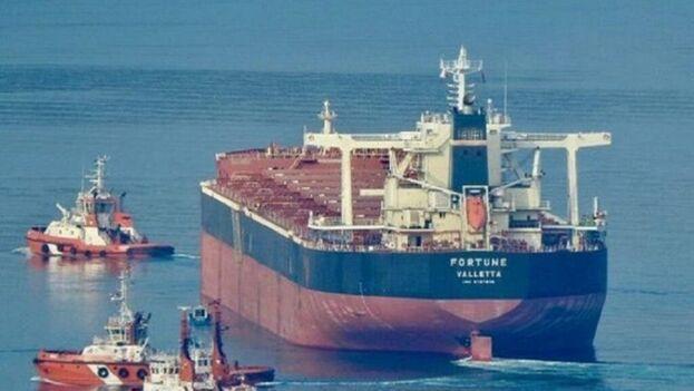 Se desconoce la cantidad de gasolina que trajo la nave a Venezuela, aunque se estima que son varios cientos de miles de barriles dada la capacidad de carga del tanquero.