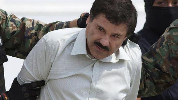 La detención de 'El Chapo'.