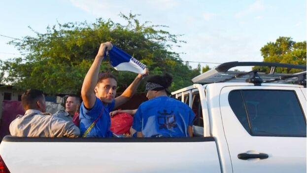 Los detenidos durante las protestas que se iniciaron hace un año se cuentan por centenares. (La Prensa/ Roberto Fonseca)