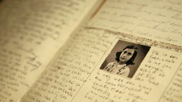 El diario de Ana Frank. (EFE)