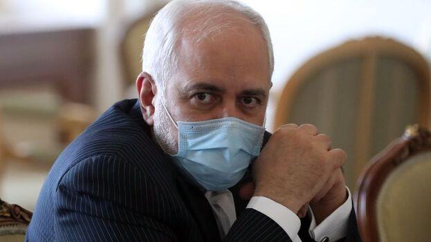 """El jefe de la diplomacia iraní aseveró que esto no ocurrirá y que """"los sionistas recibirán su respuesta con más desarrollos nucleares"""". (EFE)"""