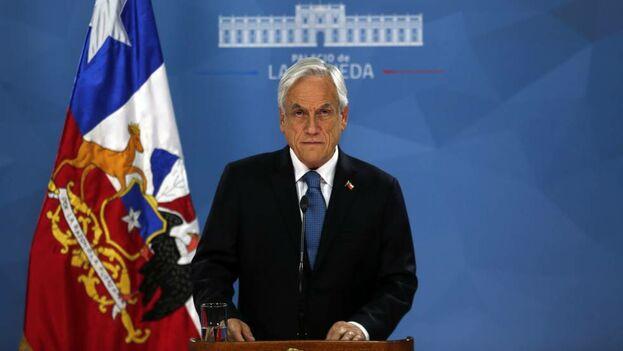"""""""Los distintos Gobiernos no fueron ni fuimos capaces de reconocer esta situación en toda su magnitud. Reconozco y pido perdón por esta falta de visión"""", dijo Piñera."""