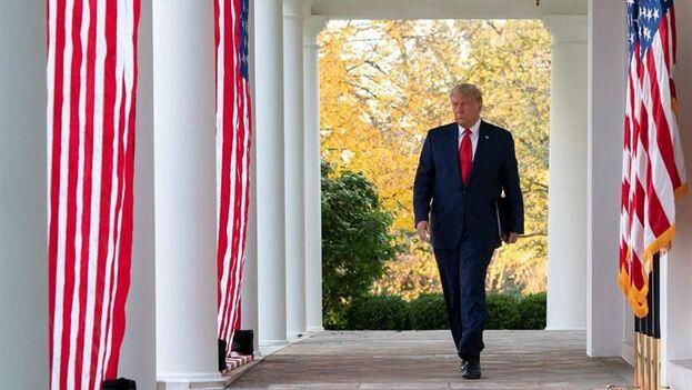 """En la reunión, disuadieron a Trump de una agresión que """"podría escalar fácilmente a un conflicto más amplio"""" en un momento de incertidumbre política. (EFE)"""