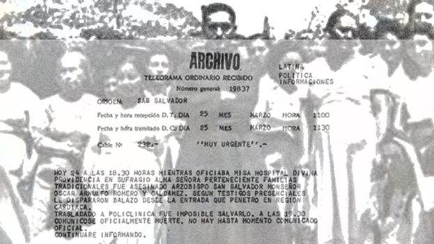 Uno de los documentos secretos desclasificados recientemente. (Gobierno argentino)