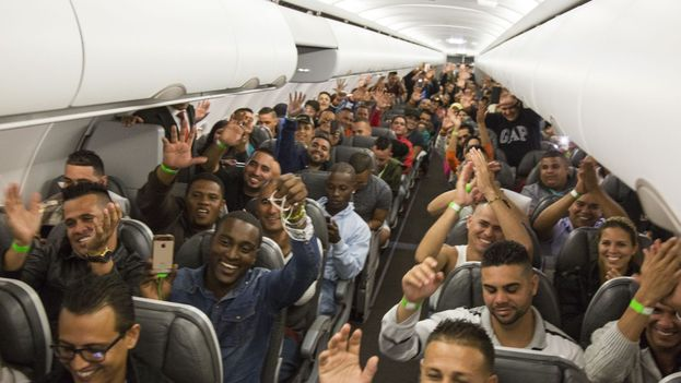 Con estos dos vuelos, ya son tres los efectuados de manera directa a México. (Presidencia de Costa Rica)