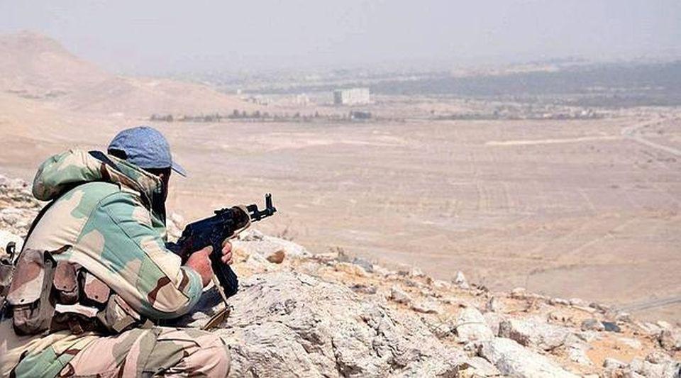 Resultado de imagen de Bombardeos en la periferia norte de Palmira,
