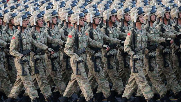 El ejército chino es el más numeroso del mundo en efectivos. (EFE)
