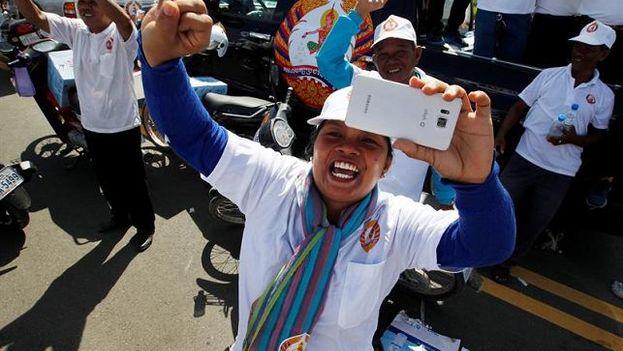 Las elecciones en Camboya serán las sextas desde que la ONU organizó la primera votación democrática en 1993 tras la paz que dos años antes puso fin a dos décadas de guerra civil. (EFE)