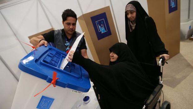 En las elecciones celebradas el pasado sábado, la participación fue históricamente baja, del 44,52 %. (EFE)