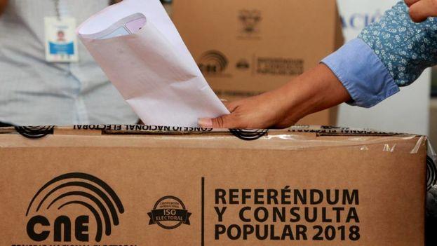 Al proceso electoral están convocados poco más de trece millones de ecuatorianos. (EFE)