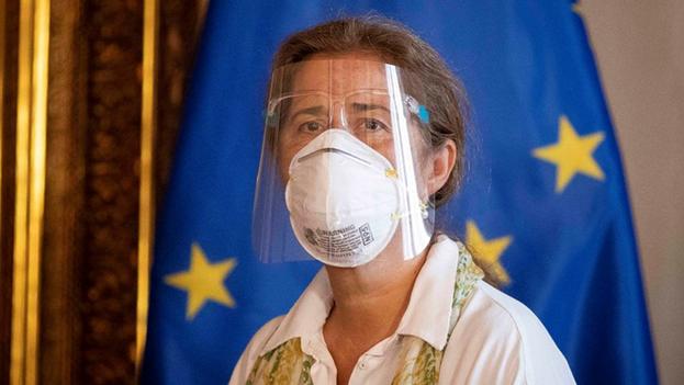 La embajadora europea en Caracas, Isabel Brilhante debe abandonar el país, a más tardar, este sábado. (EFE)
