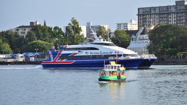 Una embarcación de la compañía estadounidense de ferris Clipper. (CC)