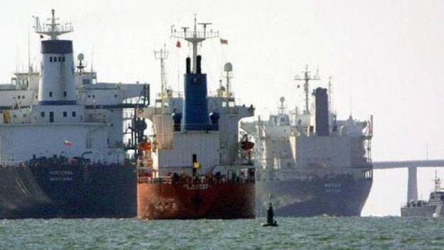 La embarcación iraní ha llegado hasta ese punto del mar Caribe sin contratiempos. (Twitter)