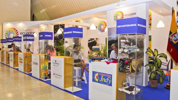De las 900 empresas participantes en Fihav 2015, más de la tercera parte son cubanas. (CC)