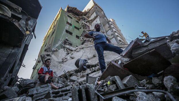 La actual escalada de violencia en la región ha dejado hasta el momento al menos 227 palestinos muertos en Gaza. (EFE)
