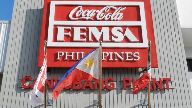 Un establecimiento de Coca Cola Femsa en Filipinas. (Femsa)