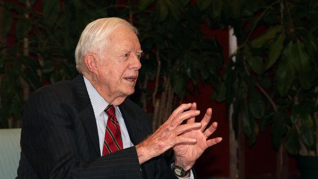 El expresidente estadounidense Jimmy Carter. (Wikimedia Commons)