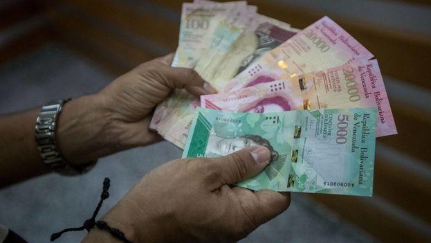 Según estimaciones del Fondo Monetario Internacional, Venezuela cerrará el año con una inflación del 1.000.000%