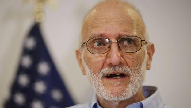 El excontratista cumplía una condena de 15 años en Cuba hasta que fue liberado como parte del intercambio de prisioneros entre ambas naciones. (EFE)