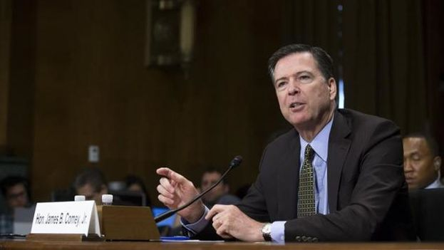 El exdirector del FBI, James Comey. (EFE)