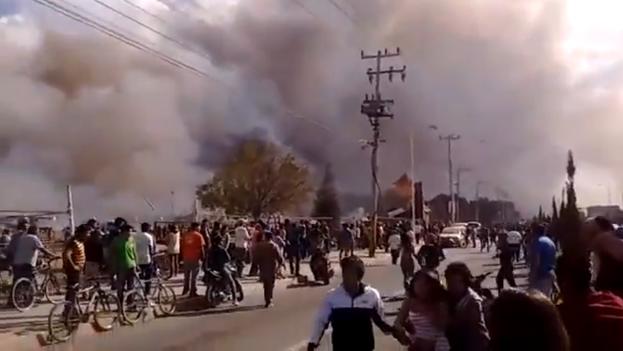 La explosión en fábrica de pirotécnica de México deja 9 muertos y 70 heridos. (CC)
