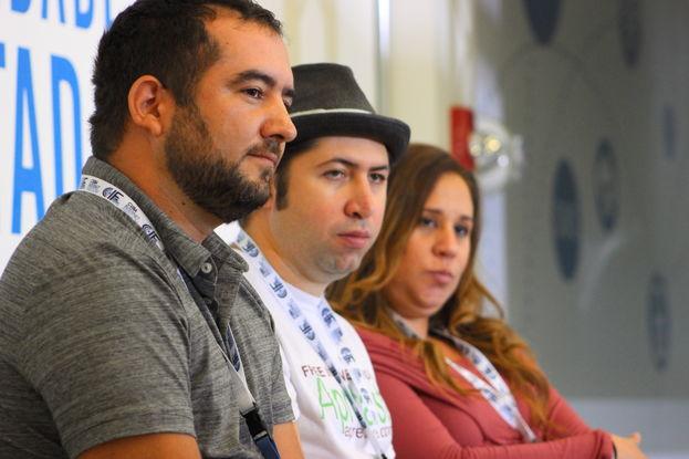 La mayor parte de los expositores viajaron expresamente desde Cuba para presentar sus experiencias en CIF. (14ymedio)