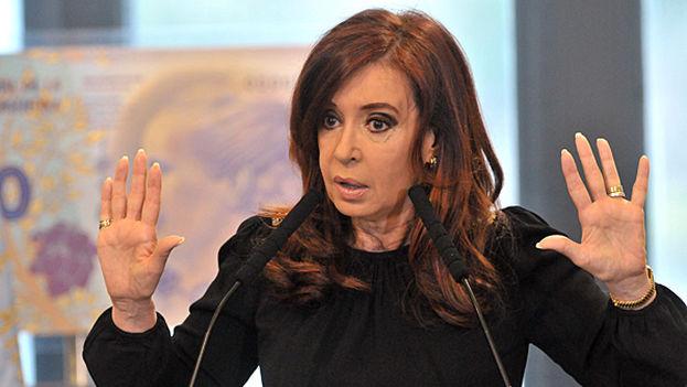 La expresidenta de Argentina, Cristina Fernández, en una imagen de archivo. (Twitter)