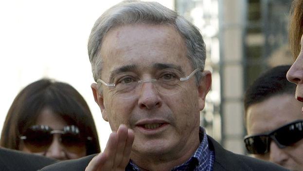 El expresidente de Colombia Álvaro Uribe. (EFE)