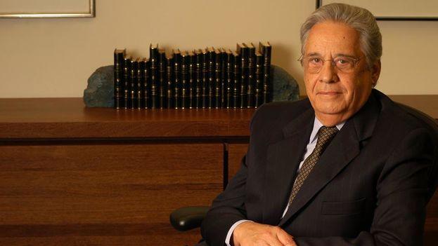 El expresidente brasileño Fernando Henrique Cardoso. (Facebook)