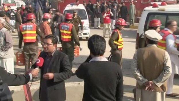 Entre los fallecidos hay al menos cuatro guardias de seguridad y un policía además de los estudiantes, la mayoría de víctimas