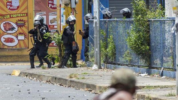 El número de fallecidos en las protestas en Nicaragua llega al menos a 54 personas en 25 días. (EFE)