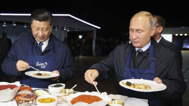 El líder ruso es un fanático del deporte y su alimentación está basada en la cocina local y sana, a excepción de su gusto por el dulce.