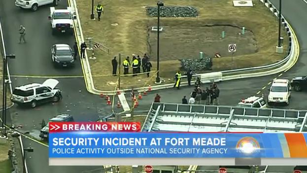 Un fotograma del lugar del tiroteo. (NBC News)