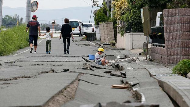 Un fuerte sismo sacude Japón. (Archivo EFE)