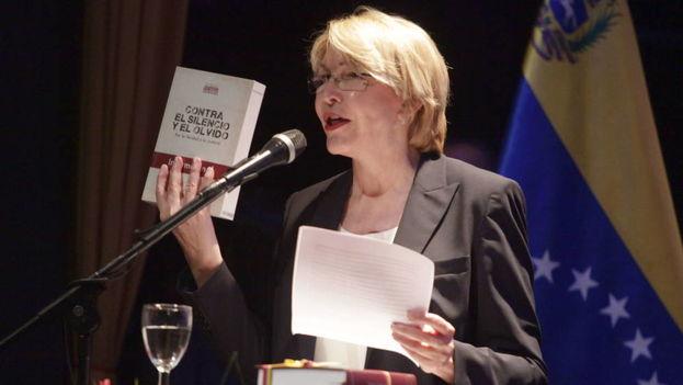 """La fiscal general venezolana alerta de """"ruptura del orden constitucional"""". (EFE)"""