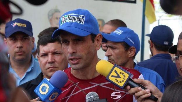 El gobernador del estado de Miranda, Henrique Capriles. (unidadvenezuela.org)