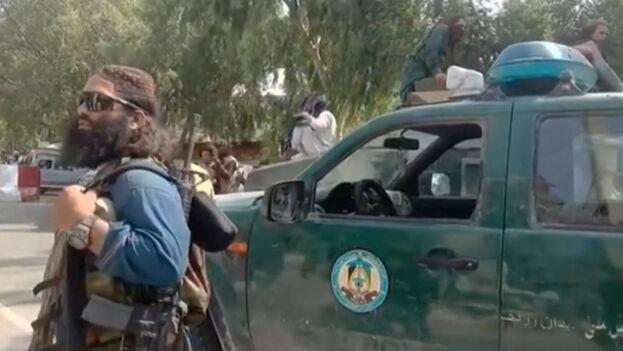 """""""Estamos en la etapa inicial de la gobernanza y nuestro Gobierno todavía es interino"""", aseguró el portavoz talibán, Bilal Karimi. (Captura)"""