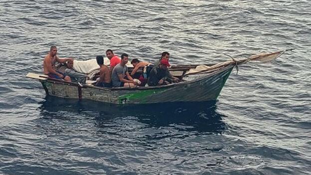 Los guardacostas siguen alertando de lo peligroso de estos viajes. (USCGS)