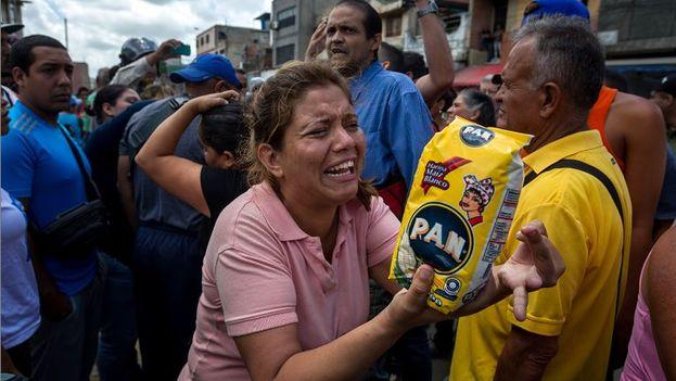 El hambre en Venezuela. (EFE)