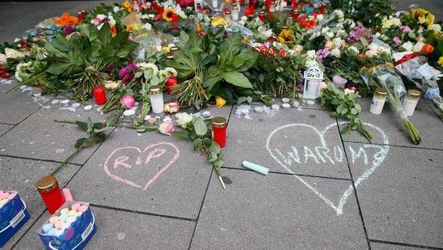 Un hombre de 26 años nacido en Emiratos Árabes Unidos y que el viernes mató a cuchilladas a un hombre e hirió a seis personas en Hamburgo. (EFE)