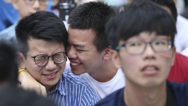 Hasta 2001, la homosexualidad en China era considerada oficialmente una enfermedad mental y, desde entonces, el colectivo ha salido parcialmente de la sombra. (EFE)