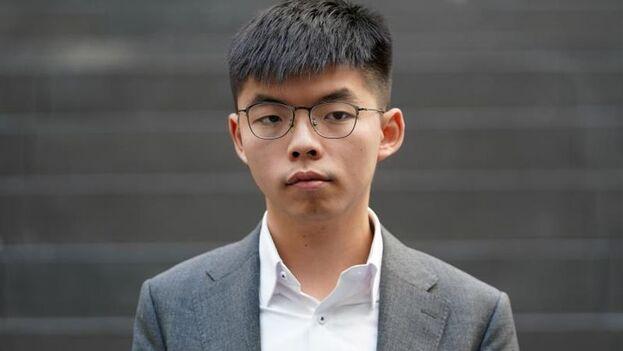 El activista hongkonés Joshua Wong. (EFE/EPA/Alexander Becher)