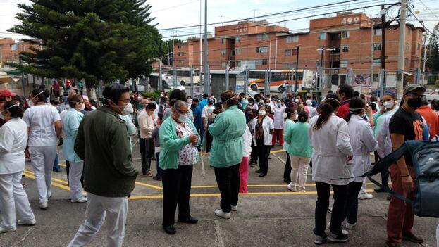 La red hospitalaria mexicana, en alerta tras el terremoto. (IMSS)