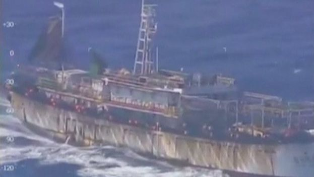 El hundimiento del pesquero chino es la primera crisis diplomática con que se tropieza Mauricio Macri. (Youtube)