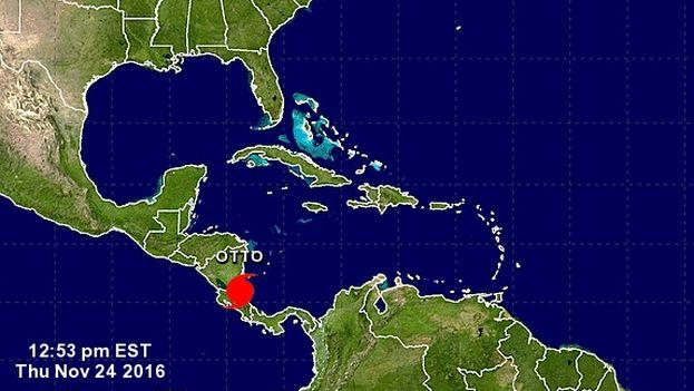 El huracán Otto, de categoría 2. (NHC)