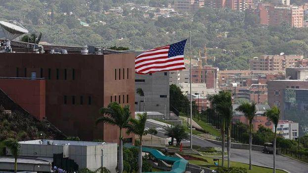 En la imagen, la embajada de Estados Unidos en Caracas. (CC)