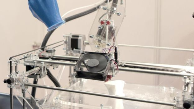 Una impresora 3D. (EFE)