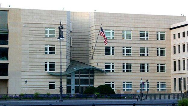 La policía alemana investiga los incidentes en la embajada de EE UU en Berlín. (EFE)