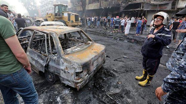 Este atentado es el ataque individual más mortífero registrado este año en Irak. (EFE/EPA/ALI ABBAS)